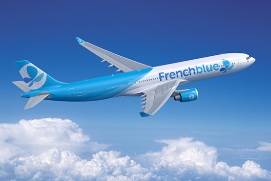 La flotte de French blue se compose d'un Airbus A330-300 et d'un A350-900, un second A350-900 est prévue pour 2018 - Crédit photo : French blue