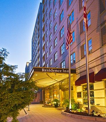 Le Residence Inn Dallas Downtown offre uniquement des suites avec un espace cuisine - Crédit photo : Marriott