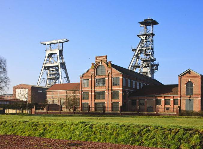 Fosse d'Arenberg à Wallers. Bassin minier du Nord-Pas de Calais (France) © Hubert Bouvet, Région Nord-Pas de Calais, 2012