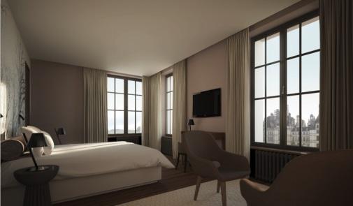 L'hôtel proposera aussi un service événementiel - Crédit photo : Relais de Chambord