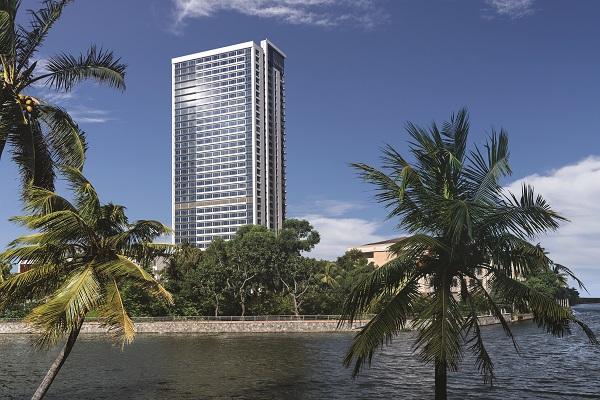 Esquisse informatique du projet - Crédit photo : Shangri-La Hotels and Resort