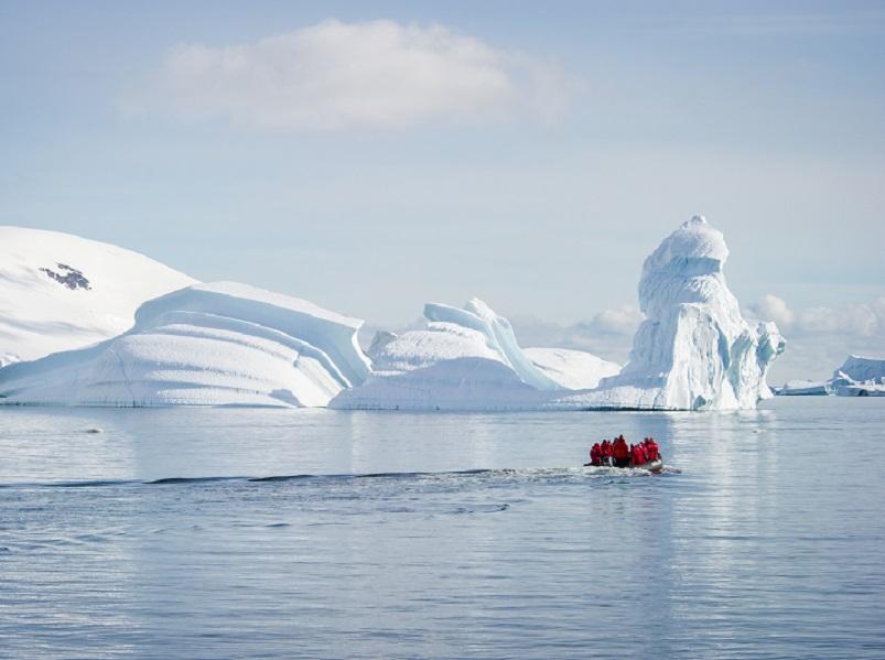 Ponant souhaite affirmer un engagement pour la préservation des pôles. DR Ponant