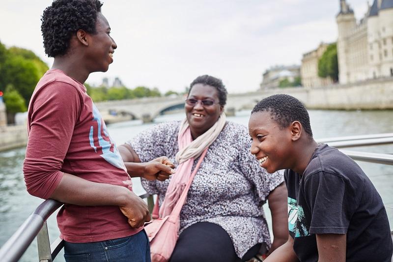 En 2016, 92 000 personnes, dont 15 600 familles avec leurs enfants, ont pu réaliser leur projet vacances grâce au dispositif des « Aides aux Projets Vacances » - DR : ANCV