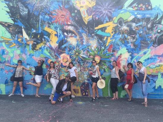 Étaient présents lors de cet éductour : Laure Bastet (Kuoni), Céline Canivet (TUI), Chrystelle Cornu (Tourism Board of Miami), Erwan Mae (Carlson Wagonlit Travel), Mélanie Mutrelle (Marco Vasco), Dorothée Palvadeau (Amplitudes), Hervet Sandy (Jetset Voyages), et Christelle Wetzler (Jet tours - Thomas Cook) - DR : Aer Lingus