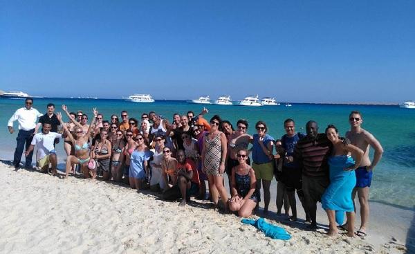 50 agents de voyages de la région parisienne ont pu découvrir l'Egypte - Crédit photo : FTI Voyages