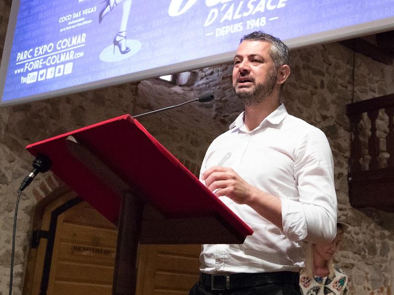 """Christophe Crupi, directeur des foires et salons de Colmar Expo : """"c'est bien cela qui définit le SITV : cette volonté de rendre le salon toujours plus vivant"""" - DR : Colmar Expo"""