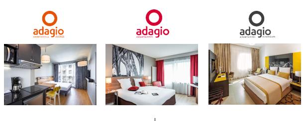 Pour fêter ses 10 ans, Adagio s'offre également une nouvelle charte graphique et commune aux trois gammes. - Photo DR Adagio