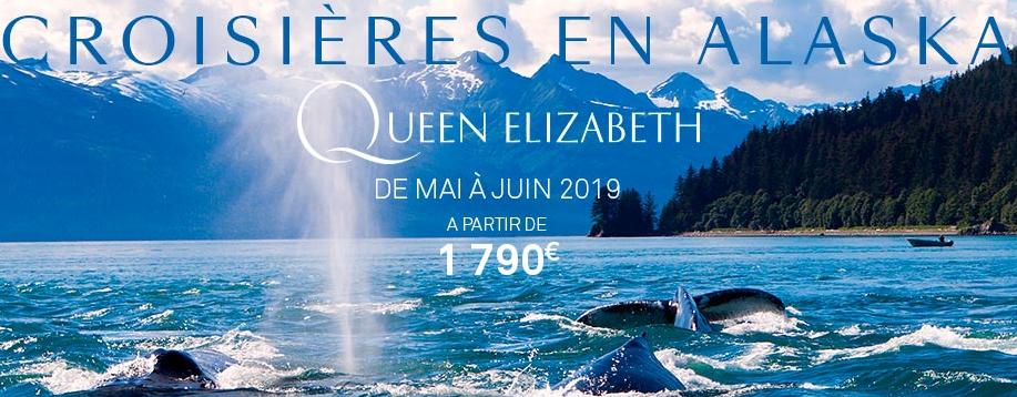 L'Alaska au programme de la saison 2019 du Queen Elizabeth - Phot DR Cunard