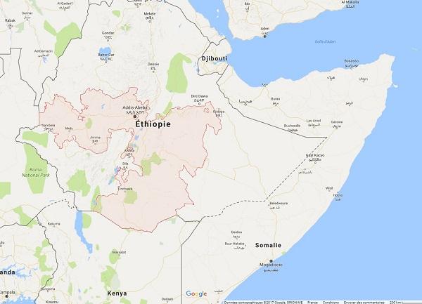 Les régions de Oromo et Somali sont proies à des tensions régulières depuis quelques jours - DR : Wikipédia