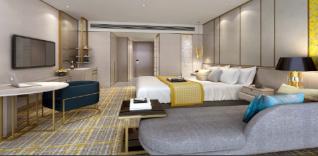 La chambre du nouvel hôtel Golden Tulip à Shanghai - DR