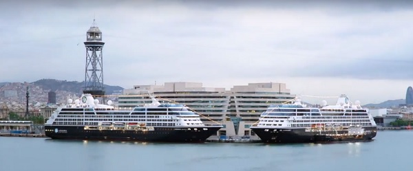 Après la Méditerranée direction l'Islande, le Chili, Pérou... pour l'Azamara Pursuit - Capture écran Vision Cruise Azamara