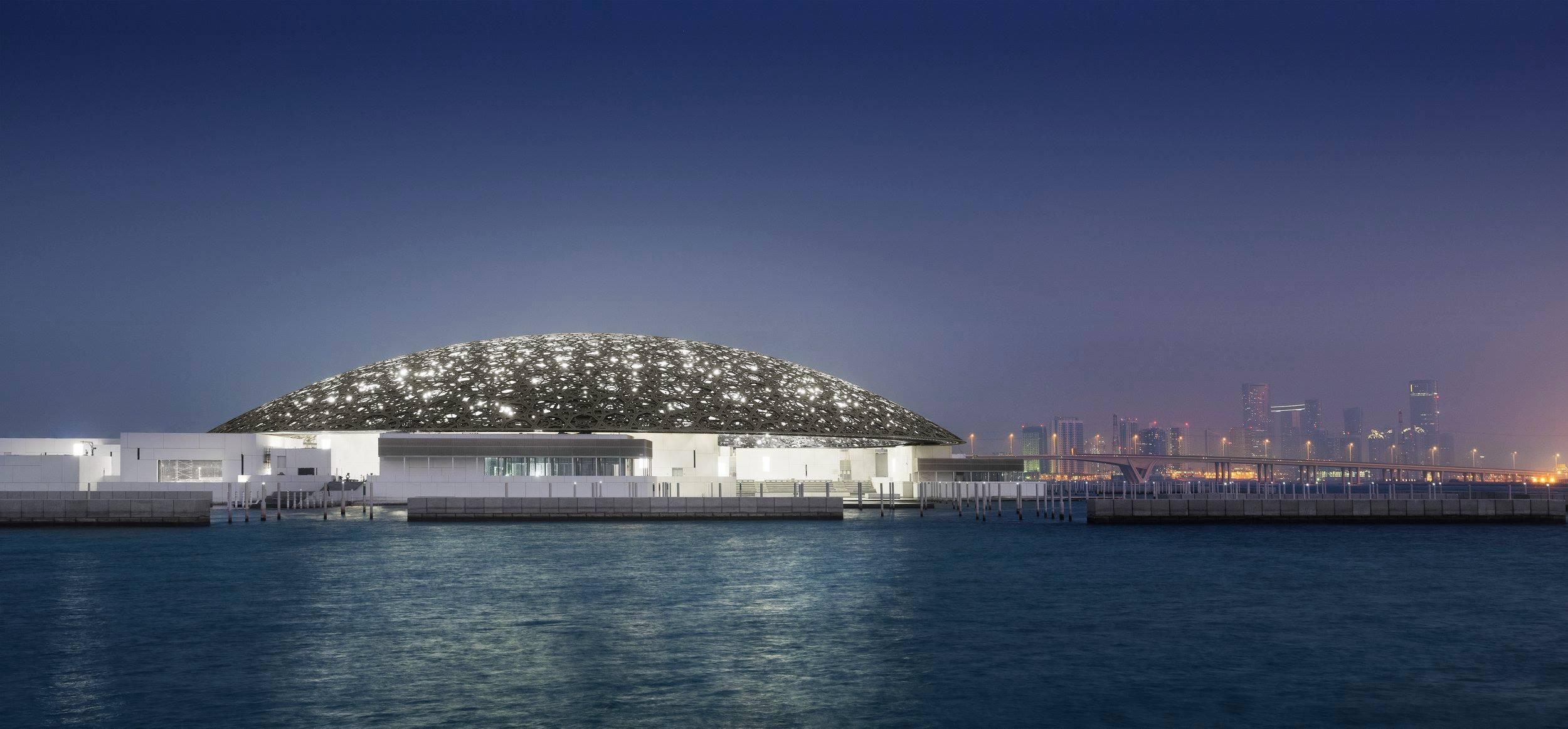 Le Louvre Abu Dhabi rassemble notamment 300 oeuvres prêtées par 13 musées français - Photo Facebook Louvre Abu Dhabi