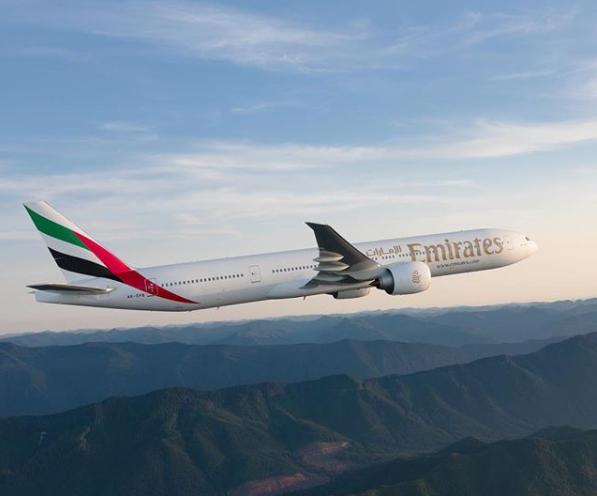 Le Boeing 777 d'Emirates - Photo Instagram Emirates