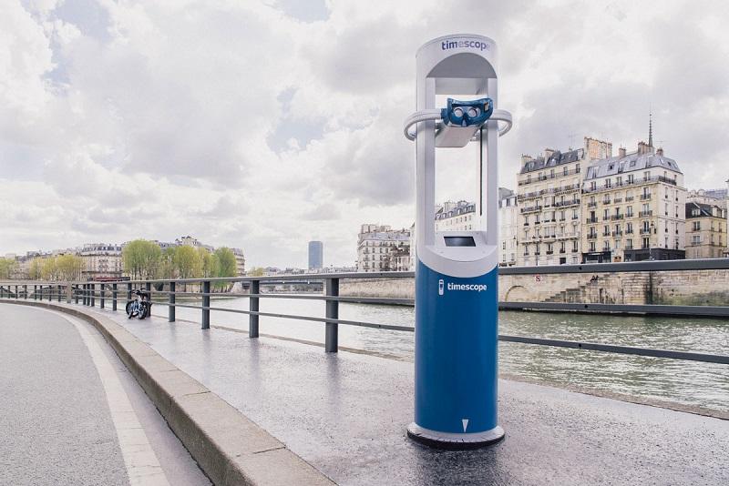 Des bornes sont déjà installées à Paris Crédit : Timescope