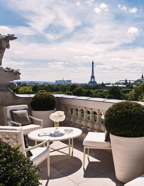 Vue depuis l'Hôtel de Crillon rouvert en juillet 2017 - Crédit photo : Hôtel de Crillon