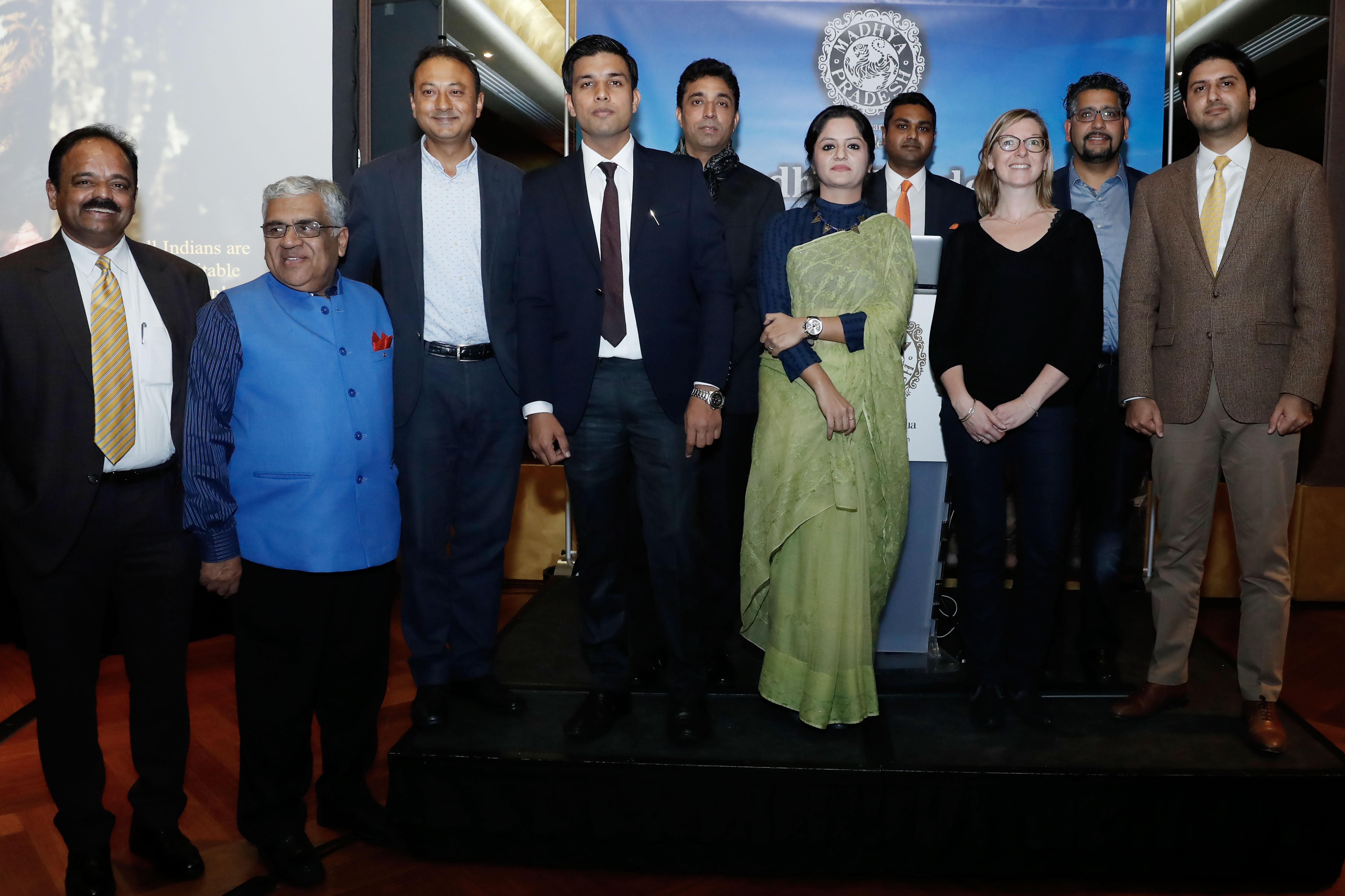 L'Office de Tourisme du Madhya Pradesh a réuni des professionnels du tourisme français. - DR