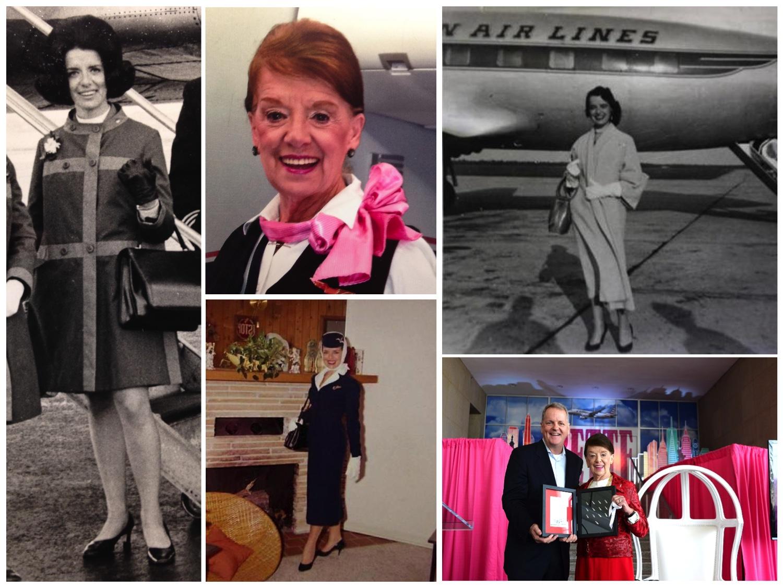 Bette Nash, hôtesse de l'air depuis 60 ans chez American Airlines - Photo AA