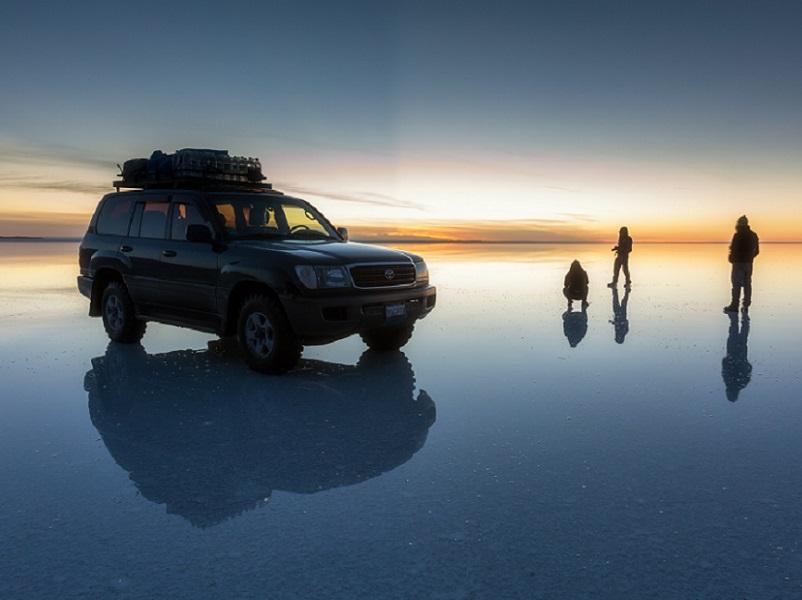 En Bolivie, le desert de sel Salar d'Uyuni attire les photographes amateurs - DR Oli H Valtysson -