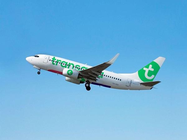 EN 2018, Transavia augmente de 41% son offre au départ de Nantes - Crédit photo : Transavia