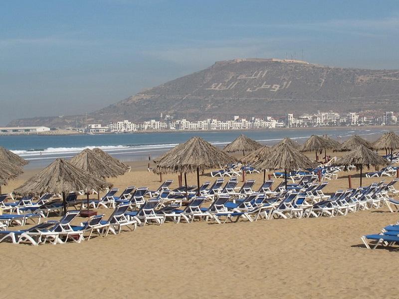Le Maroc et ses plages séduisent de plus en plus de français pour les vacances hivernales - Crédit photo : JD