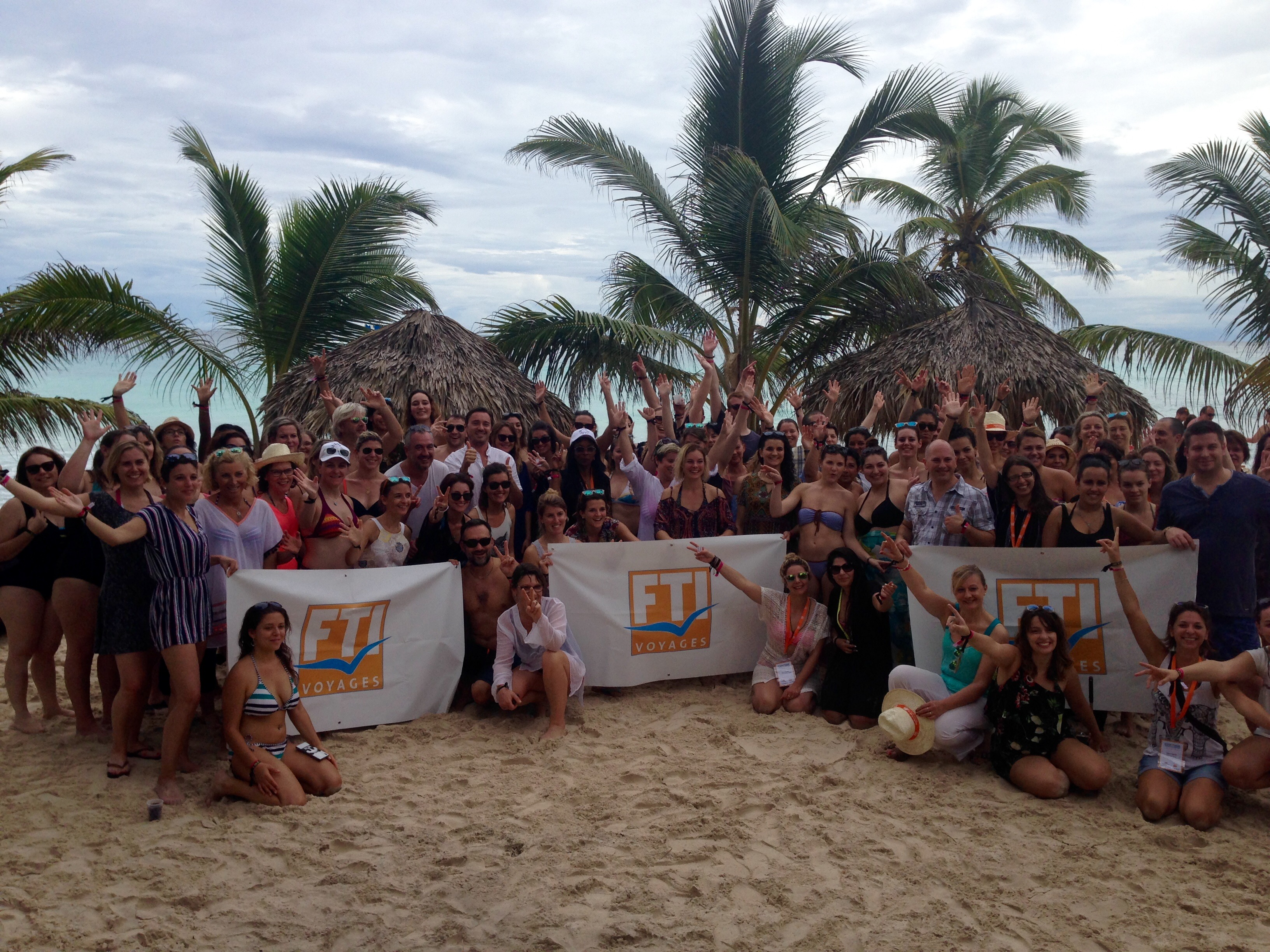 L'éductour organisé par FTI Voyages en République Dominicaine a rassemblé 90 participants du 17 au 21 novembre 2017 - Photo CL