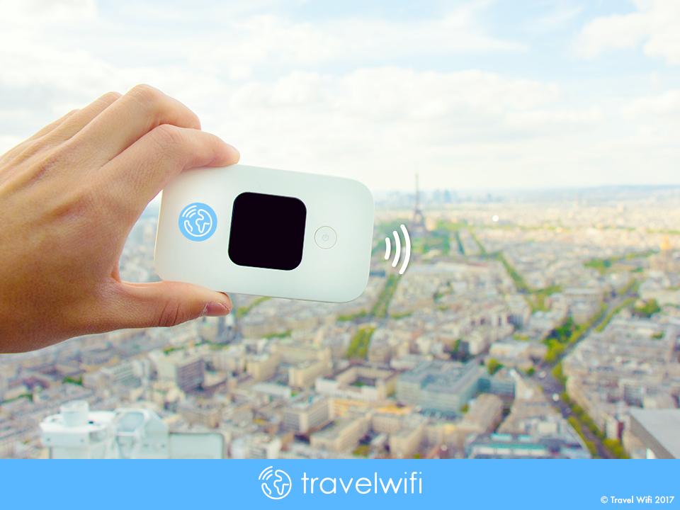 Le boîtier Travel Wifi disponible à partir de 3 euros par jour Crédit : Travel Wifi