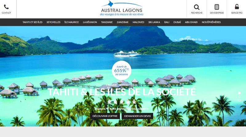 Austral Lagons lance un challenge de ventes entre le 20 novembre 2017 et le 8 janvier 2018 - DR