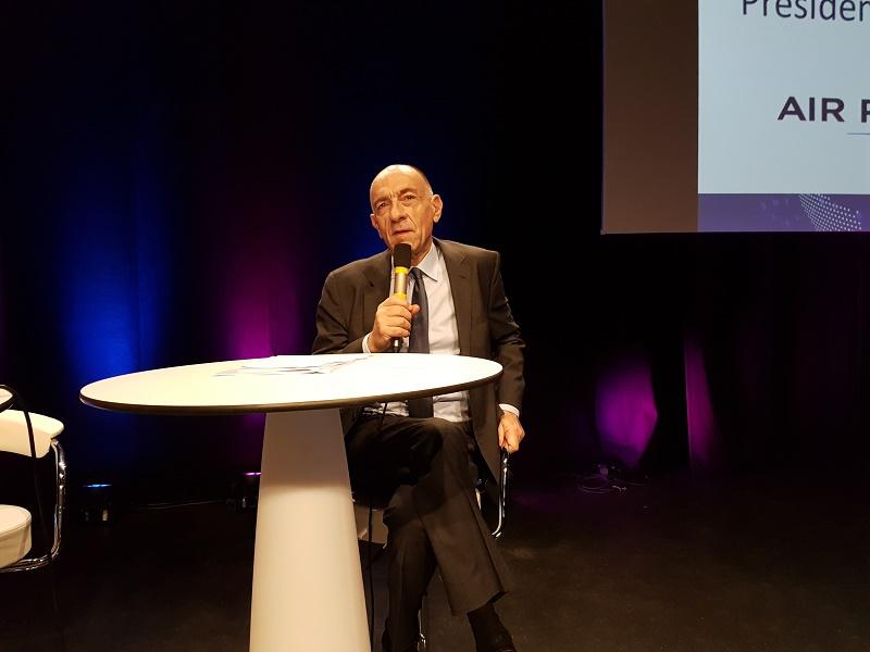 Jean-Marc Janaillac, au calme et à la sérénité sans faille, lors des Journées des Entrepreneurs du voyage - Crédit photo : CE