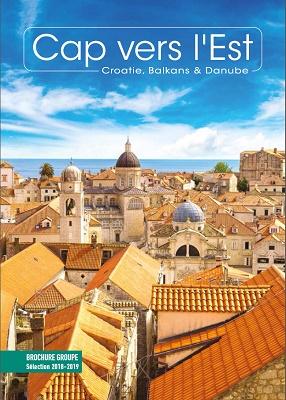La couverture de la 1ère brochure Cap vers l'Est - DR