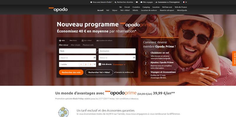 """Un programme """"Prime"""" à l'image d'Amazon Crédit : Opodo"""