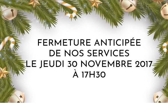 Voyage de Légende : fermeture des bureaux à 17h30 jeudi