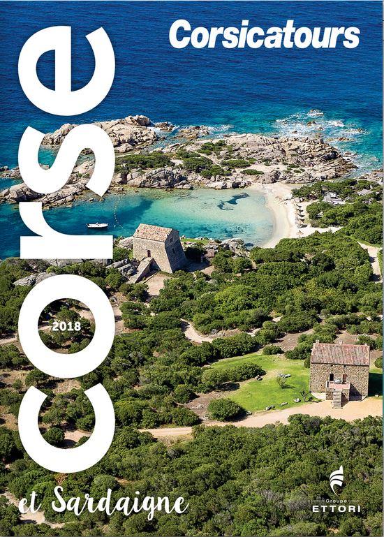 La brochure Corsicatours 2018 est disponible