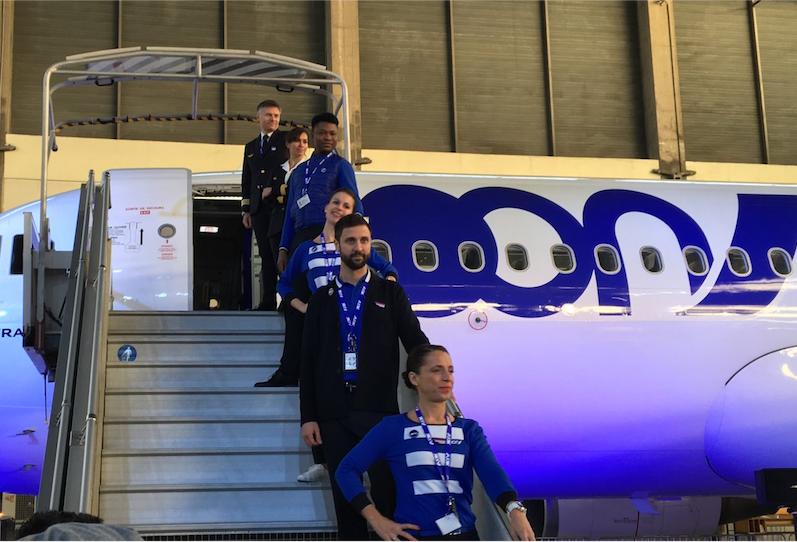 Le premier A320 de Joon décollera vendredi 1er décembre au matin de Paris-Charles de Gaulle© DR