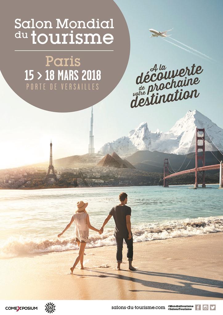 le salon du tourisme se tiendra porte de versaille à Paris du 15 au 18 mars 2018