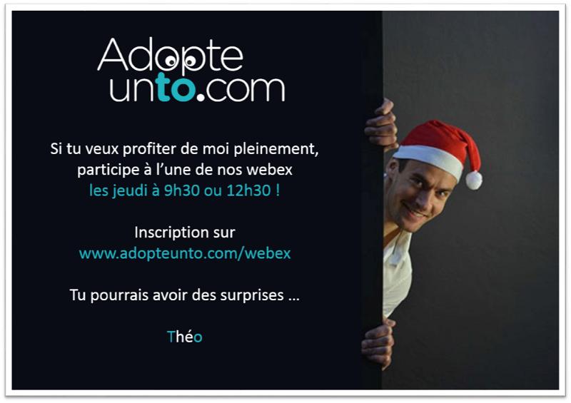 Les agents de voyages peuvent s'inscrire aux Webex (démos en ligne) d'une durée de 20 mn tous les jeudis à 9h30 et à 12h30 - Crédit Adopteunto.com