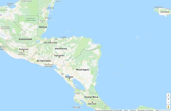 Capture écran : Google Maps