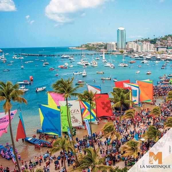 Le Tour de Martinique des Yoles Rondes aura lieu du 29 juillet au 5 août 2018 - Crédit photo : Compte Twitter @cmtMartinique