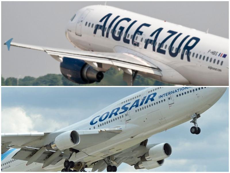 Corsair rachetée par Aigle Azur ? Les directions des deux compagnies refusent toutes deux de commenter le sujet. © DR
