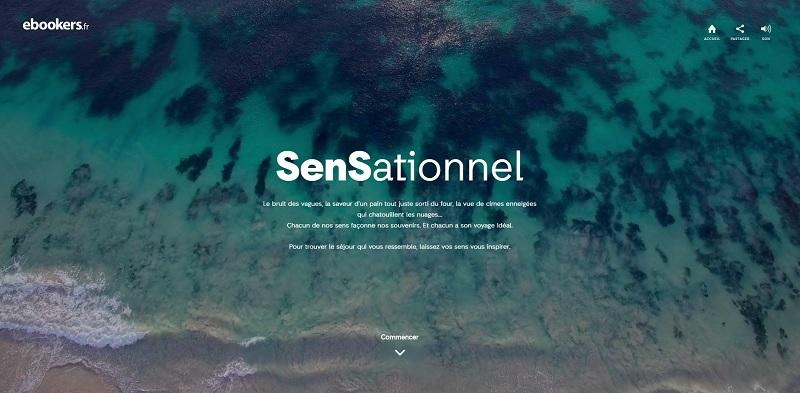 L'expérience SenSationnel disponible via ebookers.fr Crédit : ebookers