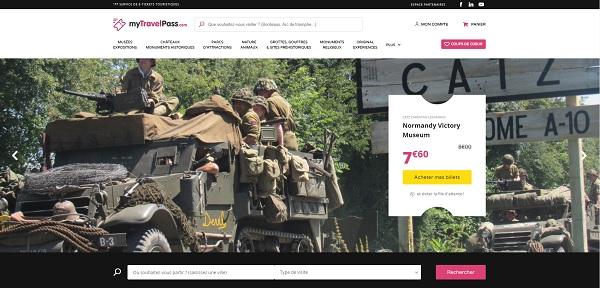 Capture écran : MyTravelPass