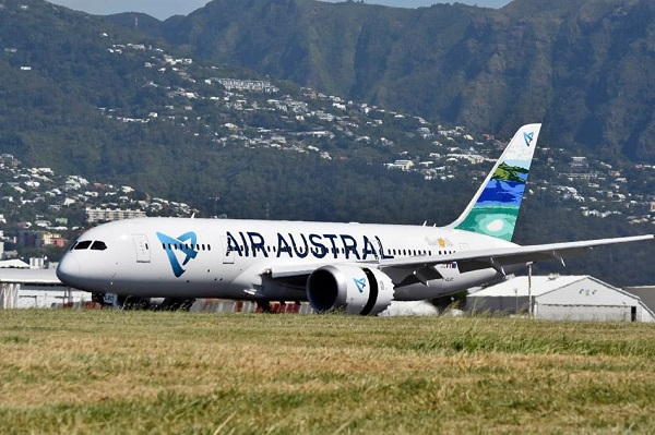 Crédit photo : compte Facebook Air Austral