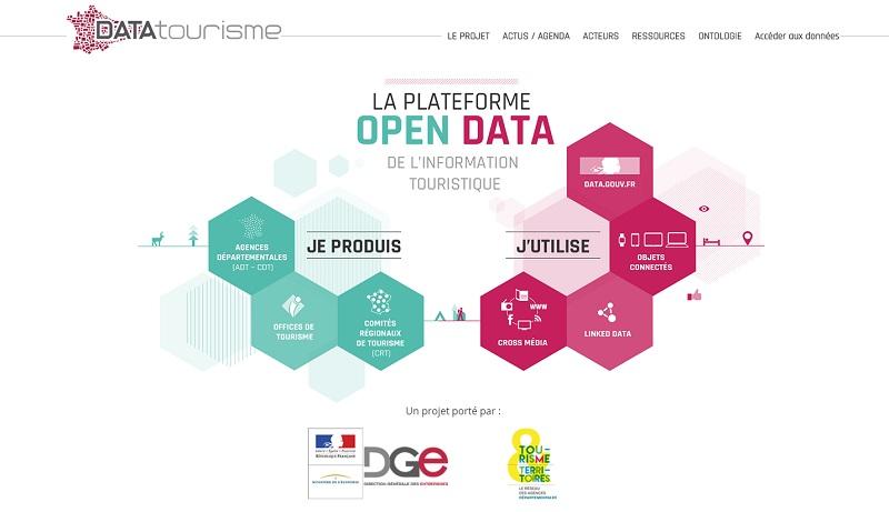 La plateforme DATAtourisme est en ligne DR