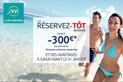 TUI lance des promos sur les réservations anticipées