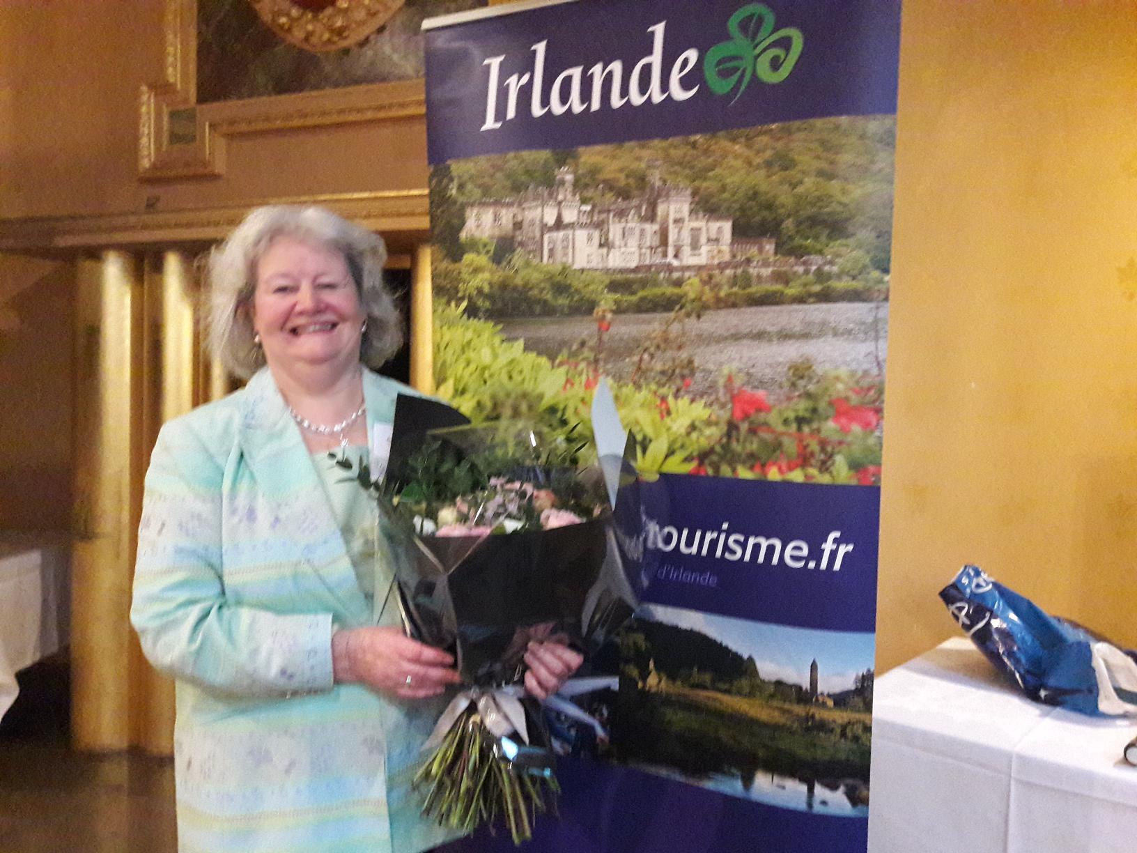 Anne Zemmour s'en va. Responsable de la communication à l'OT à Paris elle aura illustré durant  38 ans  l'accueil chaleureux et de l'hospitalité que réserve l'Irlande à ses hôtes. MS.