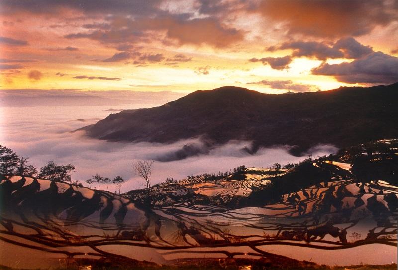 Des rizières sur les nuages... Honghe : comme dans un rêve