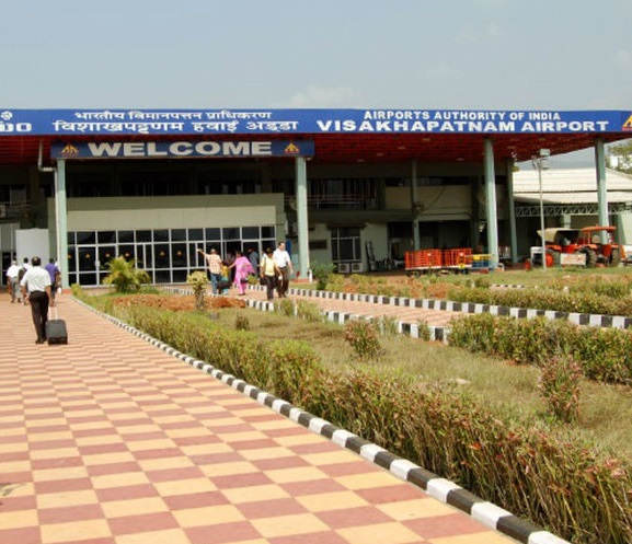 L'aéroport international de Visakhapatnam situé dans l'état de l'Andhra Pradesh - Photo DR Action-Visas