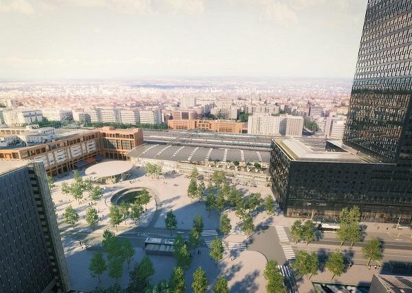 Vue de Lyon - Crédit photo : compte Twitter @grandlyon