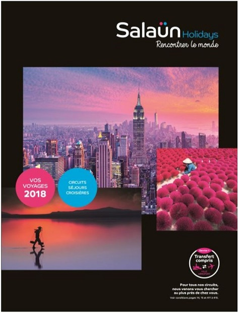 La brochure Salaün holidays 2018 est disponible !