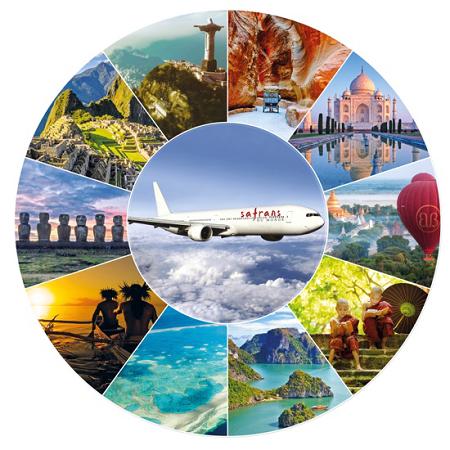 La Croisière Aérienne Tour du Monde en avion privé de Safrans du Monde, 22 jours, du 6 octobre au 27 octobre 2018 - DR