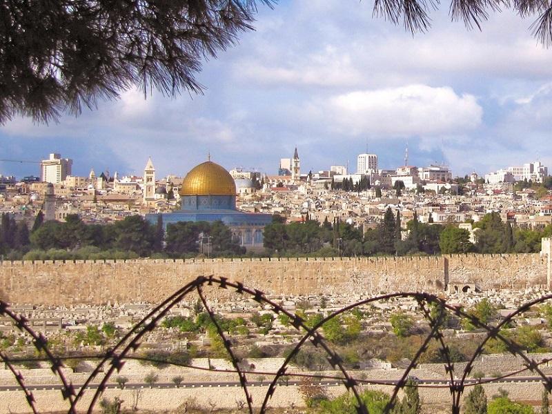 Jérusalem est la capitale d'Israël et de la Palestine